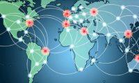 CDN 網路的示意圖