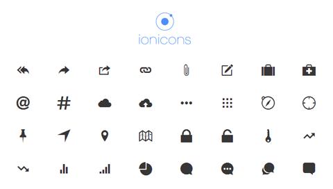 ionicons