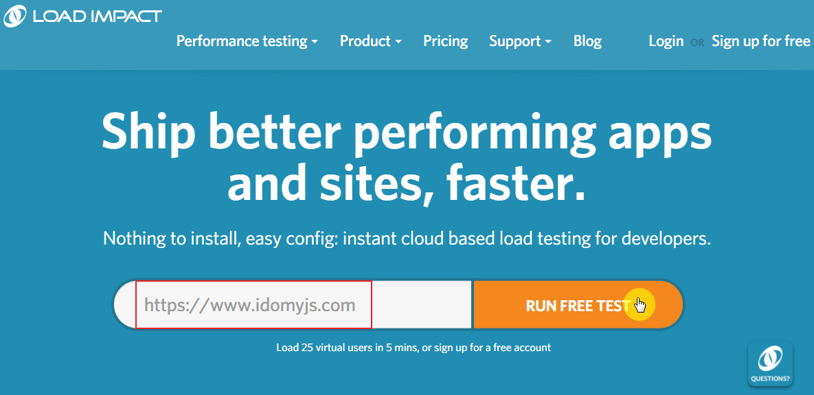 loadimpact-website-homepage
